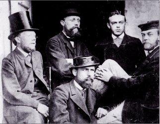 Ibsen i Roma ca 1887.